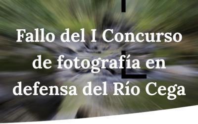 Fallo del I Concurso de fotografía en defensa del Río Cega